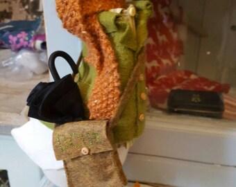 Mr Dapper Duck....A Textile Sculpture
