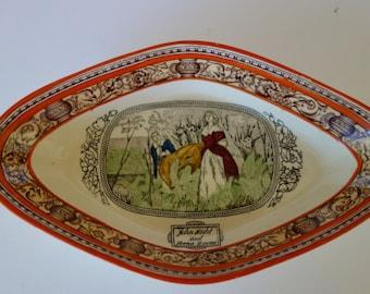 "Adams pottery dish ""Lorna Doone"""