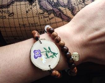 Wildflower Wrap Bracelet