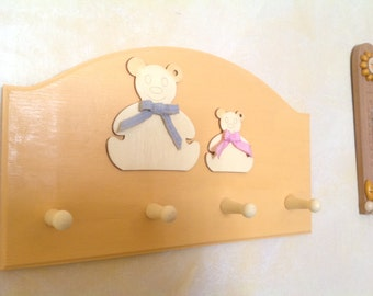 Hang teddy bears