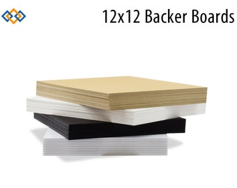 12x12 Backer Boards for Photo Mats