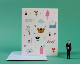 Greeting Card / Beary Cute