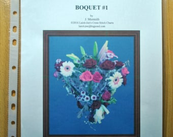 BOQUET No 1 Cross Stitch Chart