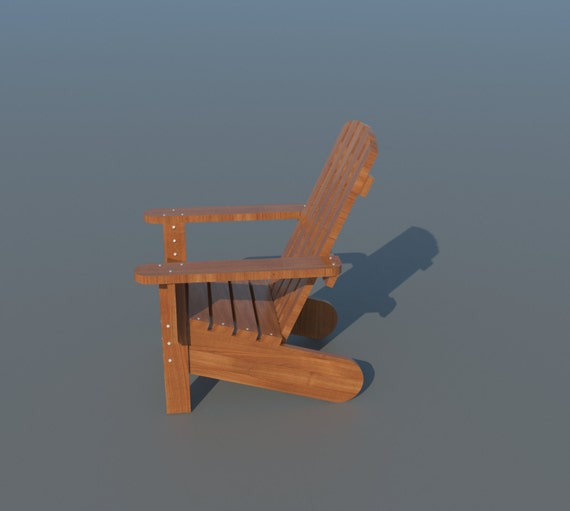 making your own adirondack chairs | Build your own Adirondack Chair DIY Plans Fun to build