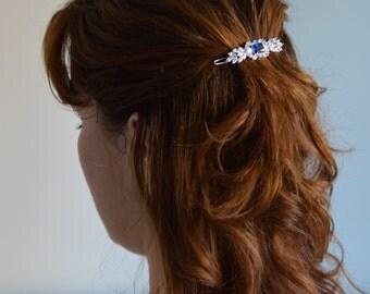 Wedding Hairpiece, Wedding Hair Clip, Bridal Hair Clip, Swarovski Hair Clip, Wedding Accessory