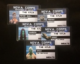 Nova Corps ID Badges Inspired by Marvel's Guardians of the Gallaxy