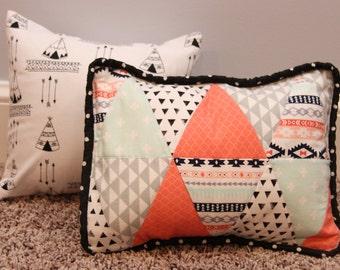 Nursery Decor for baby girl, Set of pillows