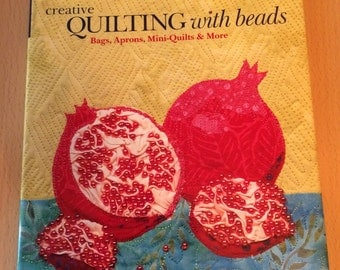 Book sale !! Craft book - Creative Quilting with Beads