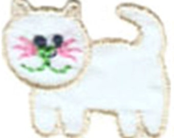 """1 1/4"""" by 1 1/8"""" Iron On Cat Applique Sew On Patch Craft Supplies w/ Free Shipping"""