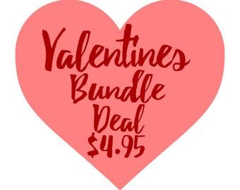 Valentines Bundle 28 SVG Files