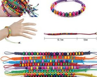 Beady Jewelry Friendship Beads Handmade Bracelets
