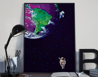 Space Astronaut | Poster