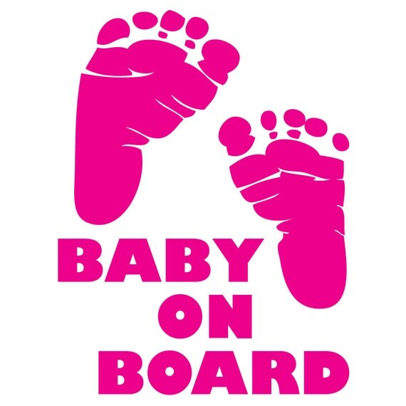 Baby On Board Decal Vinyl Sticker Car Window Truck Baby