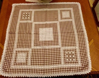 Decorative table cloth for your kitchen,country house,balcony,porch in many colors