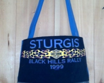 Sturgis 99 T-shirt tote bag