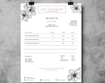 Invoice template | Receipt template | Invoice design