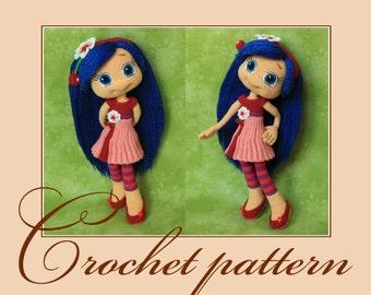 Cherry Jam - Amigurumi Crochet Pattern PDF file by Anna Sadovskaya