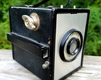 Ansco Shur-Flash Box Camera - 1953