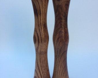 Oak Candlesticks