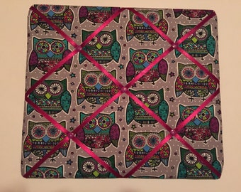 Owl Pattern Message Board