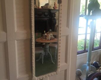 Ornate mirror vintage plastic