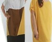 Burda Sewing Pattern 7094 Misses Plus Size Tunic Dress Size 18-34 New