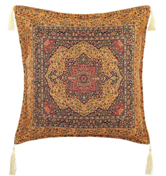 Turkish Kilim Throw Pillows : Turkish Kilim Pillows 17x17 Bohemian Home Decor by Antalyakilims
