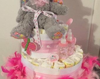 3-Tier Diaper Cake