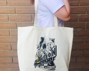 Large canvas DA tote bag!