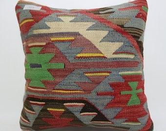 home decor 16x16 throw pillow geometric design Pillow floor pillow Multicolour pillow Sofa pillow Cushion Cover decorative pillow SP4040-957