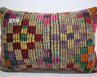 boho pillow 16x24 kilim lumbar pillow cover 16x24 embroidered kilim pillow 16x24 chevron pillow turkish pillow lumbar pillow SP4060-49