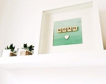 Personalised Handmade Name Frame - Wall Art - Gift