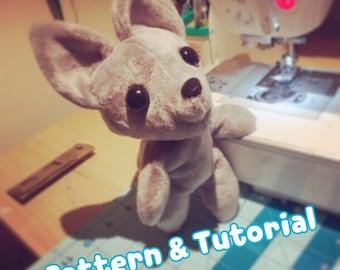 Chibi Anthro Cute Furry Animal Basic Sewing Pattern and Tutorial