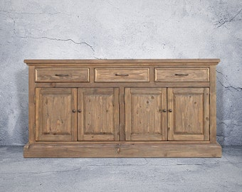 Sideboard, Buffet, Console Cabinet, Reclaimed Wood, Console, Handmade