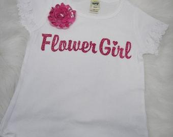Cute Flower girl tee