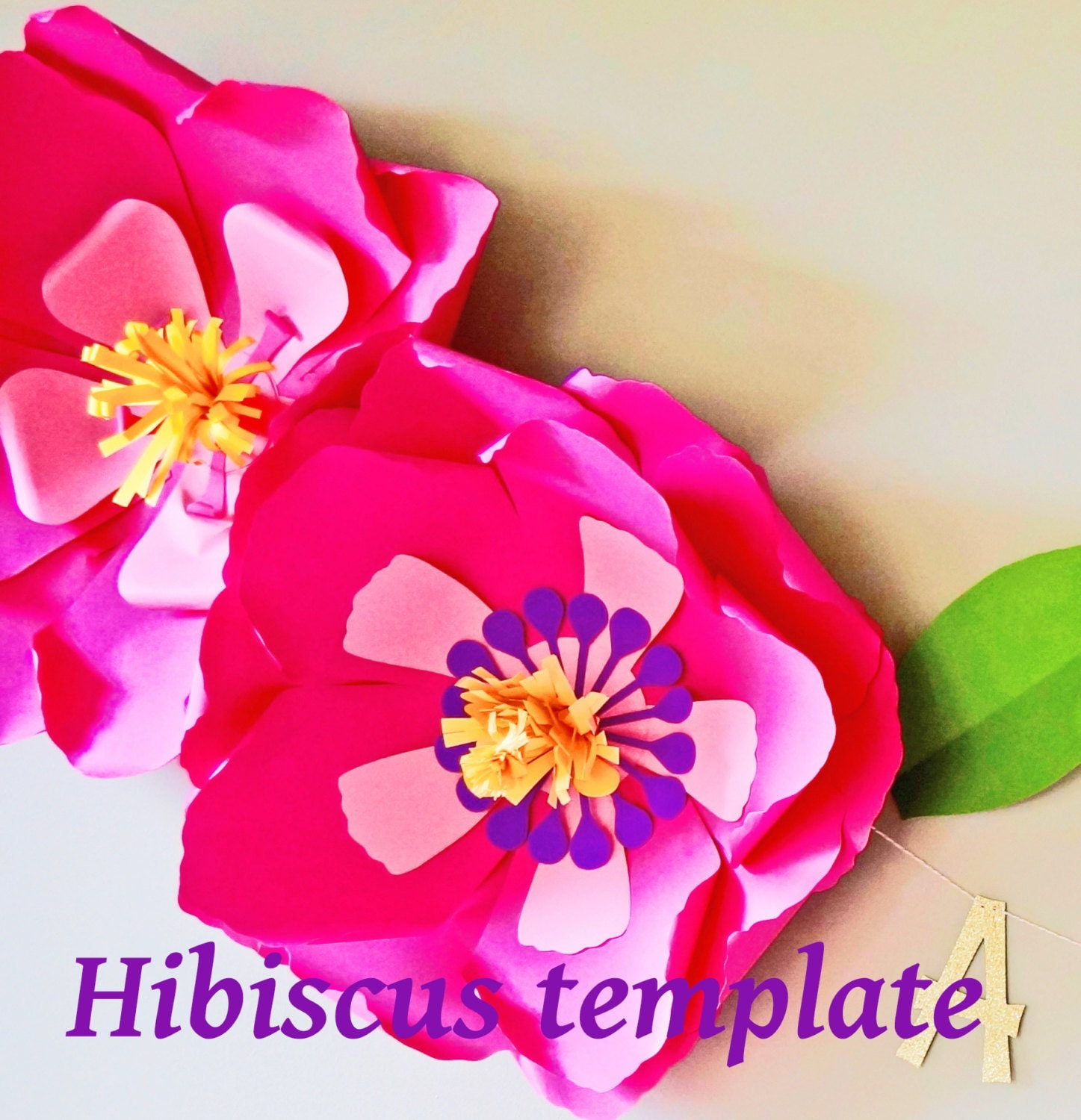 Funky paper hibiscus flower template picture collection wedding luxury paper hibiscus flower template images wedding and flowers izmirmasajfo