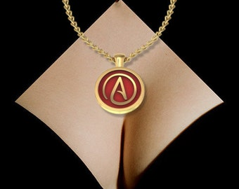 Atheist Pendant Necklace