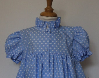 Nightgown girl with hearts T 2 years