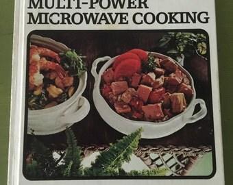 Vintage 1975 Sears Microwave Cookbook