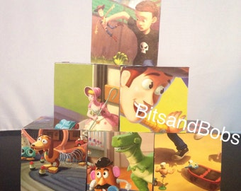 Toy story nursery blocks