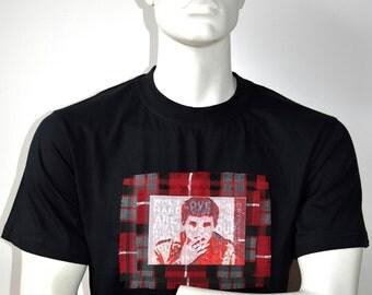 Ian Curtis, Joy Division, alternative custom made t-shirt