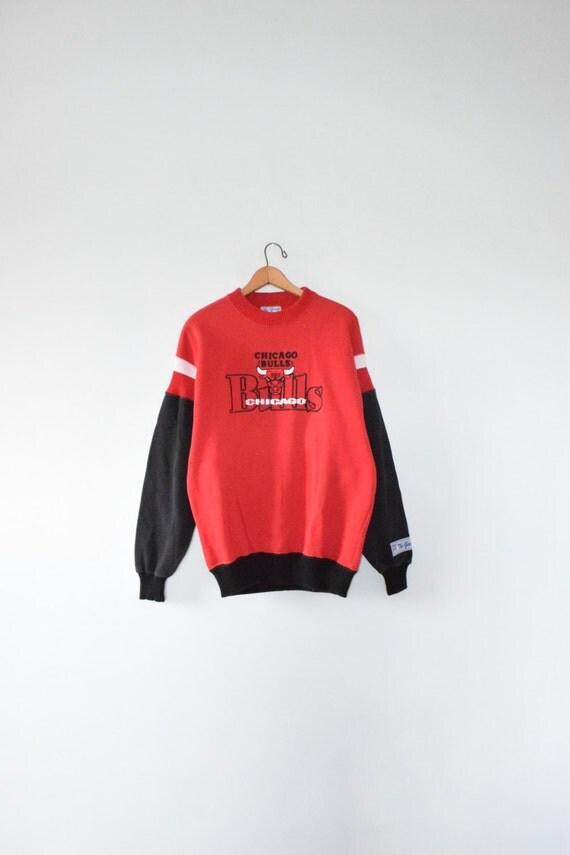 chicago bulls sweatshirt size large 90s pullover. Black Bedroom Furniture Sets. Home Design Ideas