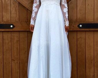 Vintage Traditional Wedding Dress