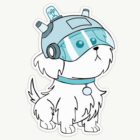 How To Draw Snuffles From Rick And Morty
