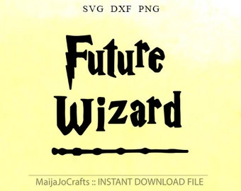 Future Wizard cutting file dxf svg Halloween Svg Magic svg Wizard svg files for silhouette Svg files for cricut downloads Cricut files