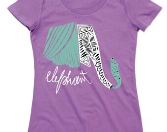 Elephant ELEPHANT organic cotton crew neck t-shirt