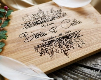 Personalized Cutting Board Wedding Gift Custom Wedding Gift Bridal Shower Gift Engraved Gift for couple Anniversary Gift Unique Wedding gift