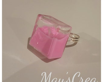 Glass - liquid ring