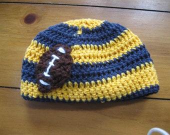 Baby Michigan Crochet hat