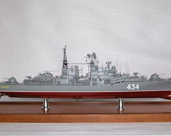 Rc Remote Control Sovremenny 1:144 Ship / Boat (KIT)